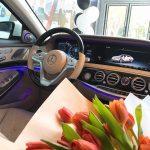 Mercedes S450 với hệ thống tự động bảo vệ Pre-Safe